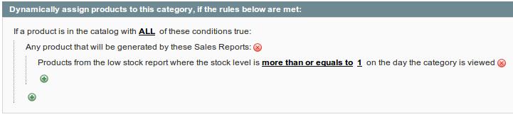 low stock